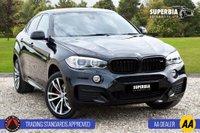 USED 2015 BMW X6 3.0 XDRIVE40D M SPORT 4d 309 BHP