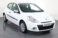 USED 2011 11 RENAULT CLIO 1.1 BIZU 3d 75 BHP ONE LADY OWNER with 4 Stamp SERVICE HISTORY