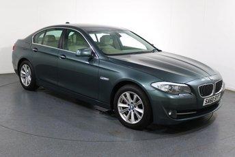 2010 BMW 5 SERIES 3.0 530D SE 4d AUTO 242 BHP £8995.00