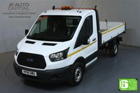 USED 2018 18 FORD TRANSIT 2.0 350 L2 MWB 129 BHP RWD EURO 6 TIPPER MANUFACTURER WARRANTY UNTIL 22/03/2021