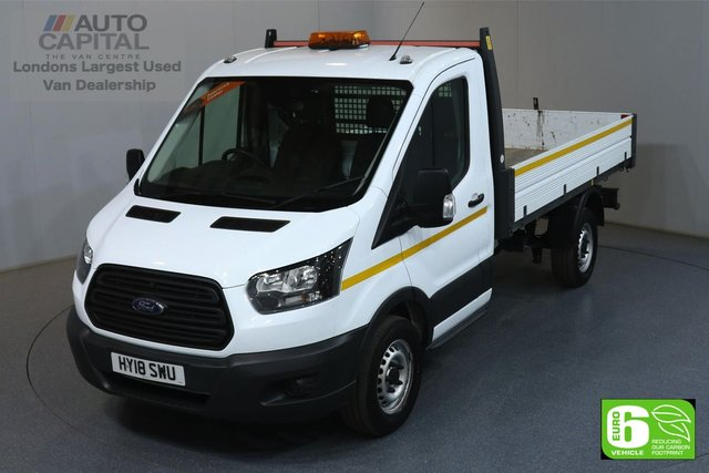 2018 18 FORD TRANSIT 2.0 350 L2 MWB 129 BHP RWD EURO 6 TIPPER MANUFACTURER WARRANTY UNTIL 22/03/2021