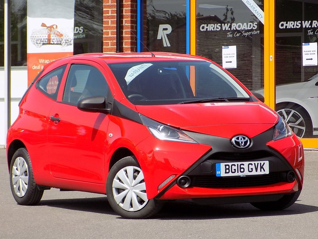 USED 2016 16 TOYOTA AYGO 1.0 VVT-i X 3dr ** Low Miles + ZERO Road Tax **