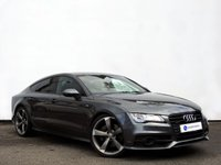 USED 2014 14 AUDI A7 3.0 TDI QUATTRO BLACK EDITION 5d AUTO 313 BHP HEAD UP DISPLAY with SATELLITE NAVIGATION plus ELECTRIC TAILGATE & REAR PARKING CAMERA......