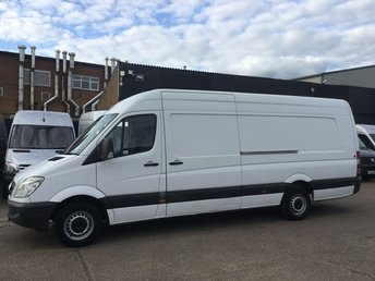 2011 MERCEDES-BENZ SPRINTER 2.1 313CDI XLWB HIGH ROOF 130BHP. RECON ENGINE. PX TO CLEAR. £3450.00