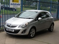 2014 VAUXHALL CORSA 1.4 SXI AC 3dr Air con Cruise Alloys Fogs £4695.00