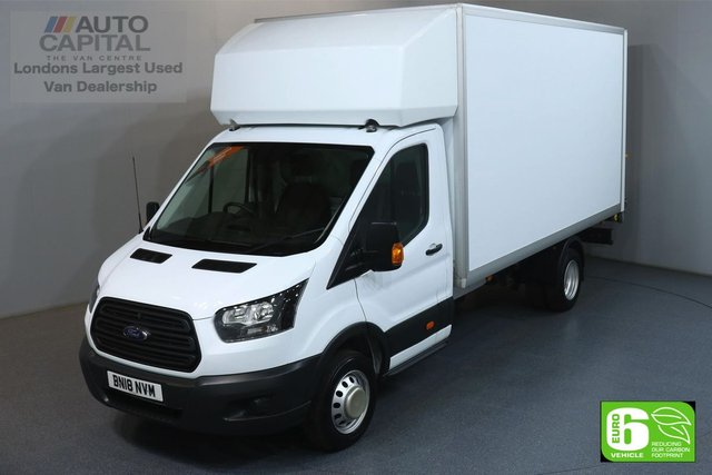 2018 18 FORD TRANSIT 2.0 350 L4 EXTRA LWB 129 BHP RWD EURO 6 ENGINE LUTON MANUFACTURE WARRANTY UNTIL 15/03/2021