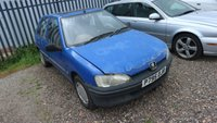 USED 1997 PEUGEOT 106 1.5 XND 5d 58 BHP *PX CLEARANCE - NOT INSPECTED - NO WARRANTY - NOT AVAILABLE ON FINANCE - NO PX TAKEN*