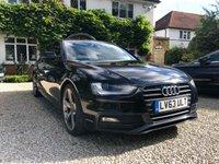 2013 AUDI A4 2.0 TDI BLACK EDITION START/STOP 4d AUTO 148 BHP £SOLD