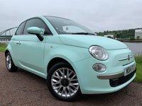 2014 FIAT 500 1.2 LOUNGE 3d 69 BHP £5990.00