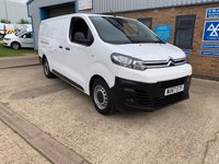 2017 CITROEN DISPATCH 1.6 (EURO 6) XL 1200 ENTERPRISE BLUEHDI 1d 95 BHP £12990.00