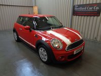 2011 MINI HATCH ONE 1.6 ONE 3d 98 BHP £4495.00