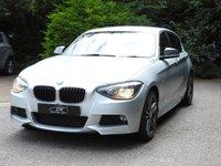 USED 2014 14 BMW 1 SERIES 2.0 116D M SPORT 5d AUTO 114 BHP HUGE SPEC 50 MPG A/C VGC