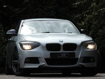 2014 BMW 1 SERIES 2.0 116D M SPORT 5d AUTO 114 BHP £6900.00