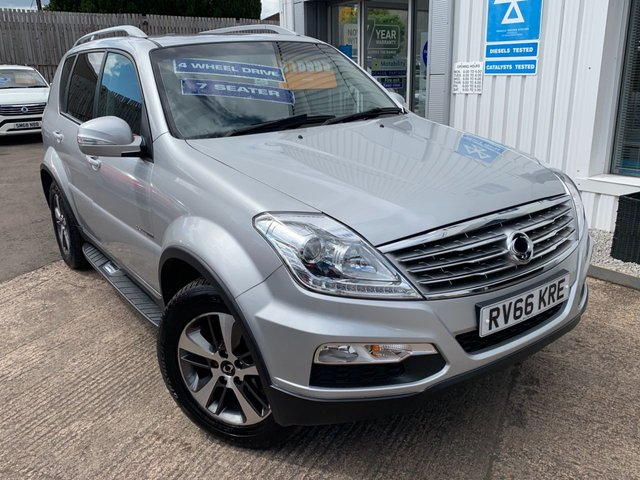 View our SSANGYONG REXTON