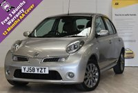 USED 2008 58 NISSAN MICRA 1.4 TEKNA 5d 88 BHP REVERSE PARKING AID, AIR CON