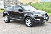 USED 2012 12 LAND ROVER RANGE ROVER EVOQUE 2.2 SD4 PURE 3d AUTO 190 BHP