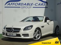USED 2014 14 MERCEDES-BENZ SLK 1.8 SLK200 BLUEEFFICIENCY AMG SPORT 2d AUTO 184 BHP