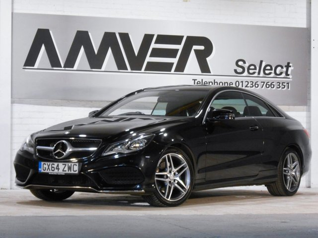 2014 64 MERCEDES-BENZ E CLASS 2.1 E220 CDI AMG SPORT 2d AUTO 170 BHP