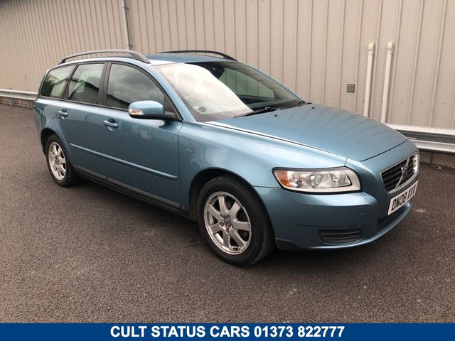 2008 08 VOLVO V50 1.8 S 124 BHP PETROL MANUAL ESTATE