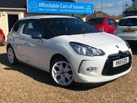 2011 CITROEN DS3 1.6 BLACK AND WHITE EDITION PETROL £SOLD
