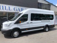 2016 FORD TRANSIT 2.2 460 TREND H/R BUS 17 SEATER  155 BHP £19995.00