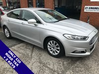 "USED 2016 16 FORD MONDEO 2.0 ZETEC ECONETIC TDCI 5DOOR 148 BHP DAB   :   Satellite Navigation   :   USB Socket   :   Heated Windscreen   :   Car Hotspot / WiFi      Cruise Control / Speed Limiter   :   Bluetooth Connectivity   :   Front & Rear Parking Sensors      16"" Alloy Wheels   :   2 Keys   :   Service History"