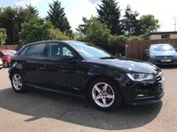 USED 2016 16 AUDI A3 1.6 TDI ULTRA SE TECHNIK 5d WITH SAT NAV AND CRUISE CONTROL  NO DEPOSIT  PCP/HP FINANCE ARRANGED, APPLY HERE NOW