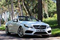 2015 MERCEDES-BENZ E CLASS 3.0 E350 BLUETEC AMG LINE 2d AUTO 255 BHP £SOLD