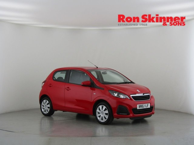View our 2016 16 PEUGEOT 108 1.0 ACTIVE 5d 68 BHP