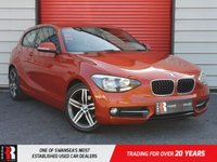 USED 2014 14 BMW 1 SERIES 2.0 116D SPORT 3d 114 BHP Drive Performance Control