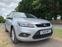 USED 2010 10 FORD FOCUS 1.6 ZETEC 5d 100 BHP [WESTBURY SITE]