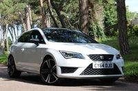 2014 SEAT LEON 2.0 TSI CUPRA DSG 3d AUTO 280 BHP £SOLD