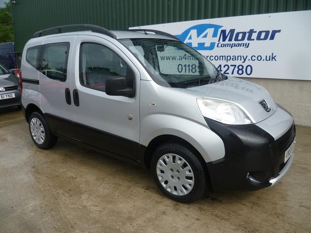2009 59 PEUGEOT BIPPER 1.4 HDi 8v Tepee Outdoor 5dr