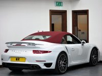 USED 2015 65 PORSCHE 911 Turbo Pdk RED ROOF + CHRONO PACK + PDK
