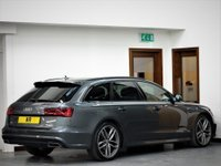 USED 2017 17 AUDI A6 Avant TDi Ultra S Line Black Edition SAT NAV + BOSE + HEATED LTHR
