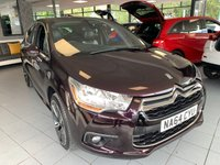 2014 CITROEN DS4 1.6 E-HDI AIRDREAM DSTYLE 5d 115 BHP £7295.00