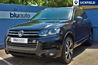 USED 2014 N VOLKSWAGEN TOUAREG 3.0 V6 R-LINE TDI BLUEMOTION TECHNOLOGY 5d AUTO 242 BHP Panoramic Sunroof, Satellite Navigation, Leather, Heated Seats, Front & Rear Sensors............
