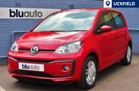 USED 2016 66 VOLKSWAGEN UP 1.0 HIGH UP BLUEMOTION TECHNOLOGY 5d AUTO 74 BHP DAB Radio, Bluetooth Connectivity with Audio Streaming, Heated Front Seats, Air Conditioning, Alloy Wheels, Automatic Transmission, Electric Mirrors...
