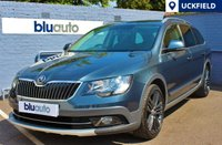 USED 2015 15 SKODA SUPERB 2.0 OUTDOOR PLUS TDI CR DSG 5d AUTO 168 BHP Lovely Condition, 1 Owner (plus demo), FSH, full Leather, heated seats , Bluetooth........