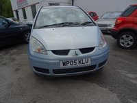 USED 2005 05 MITSUBISHI COLT 1.3 EQUIPPE 5d 95 BHP