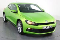 USED 2013 63 VOLKSWAGEN SCIROCCO 1.4 TSI DSG 3d AUTO 160 BHP Motability and ONE OWNER with FULL SERVICE HISTORY