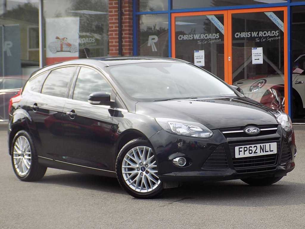 """USED 2012 62 FORD FOCUS 1.0 EcoBoost Zetec 5dr *Appearance Pack w/ 17"""" Alloys*"""