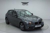 USED 2013 J BMW 1 SERIES 1.6 116I SPORT 5d 135 BHP