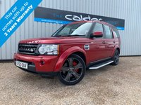 USED 2013 63 LAND ROVER DISCOVERY 4 3.0 4 SDV6 XS 5d AUTO 255 BHP