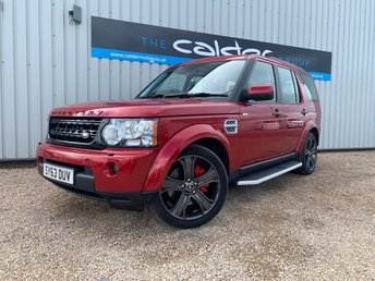 2013 LAND ROVER DISCOVERY 4 3.0 4 SDV6 XS 5d AUTO 255 BHP £19450.00