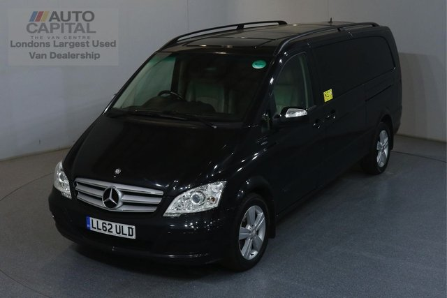 2012 62 MERCEDES-BENZ VIANO 2.1 AMBIENTE CDI BLUEEFFICENCY 5d 163 BHP AUTO AIR CON SAT NAV NO VAT AUTOMATIC GEARBOX, AIR CONDITIONING, SAT NAV, FULL LEATHER SEATS