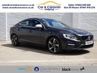 USED 2015 15 VOLVO S60 2.0 D4 R-DESIGN 4d 178 BHP One Owner Service History DAB Buy Now, Pay Later Finance!