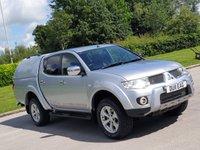 2011 MITSUBISHI L200 2.5 DI-D 4X4 BARBARIAN LB DCB 1d 175 BHP £9125.00
