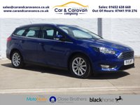 USED 2015 15 FORD FOCUS 1.5 TITANIUM X TDCI 5d 118 BHP One Owner Full Service History Buy Now, Pay Later Finance!