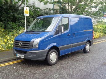 2014 VOLKSWAGEN CRAFTER 2.0 CR30 TDI P/V 1d 107 BHP SWB FULL SERVICES HISTORY (AIR CON)  £8490.00